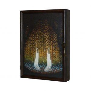 ключница деревянная духи леса