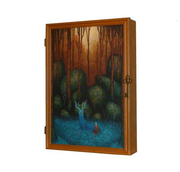 ключница деревянная хозяин леса