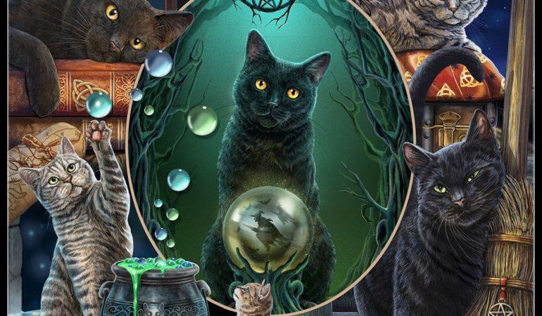кошка астральный целитель