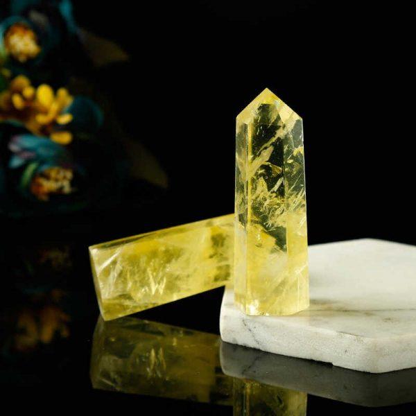 натуральный камень цитрин