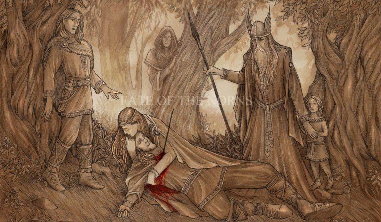 проживание аркана повешенный таро викинов