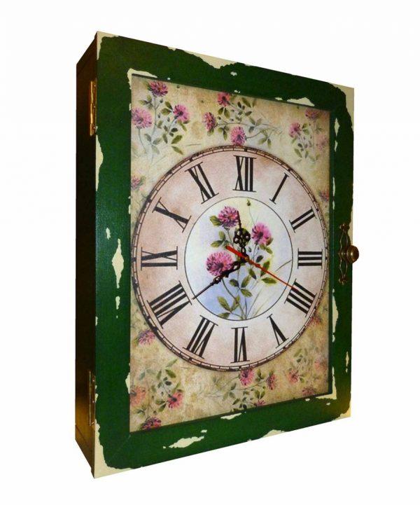 часы шкаф настенные клевер