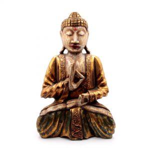 статуэтка будда из дерева