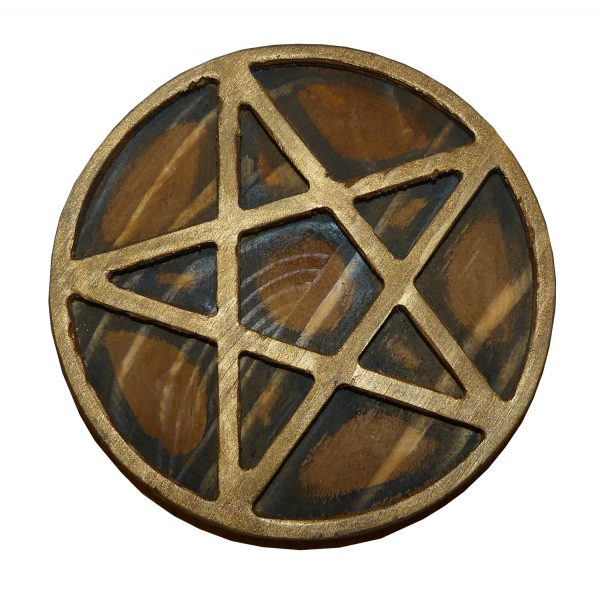 пентакль алтарный бронза