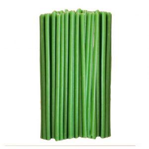 зеленая восковая свеча