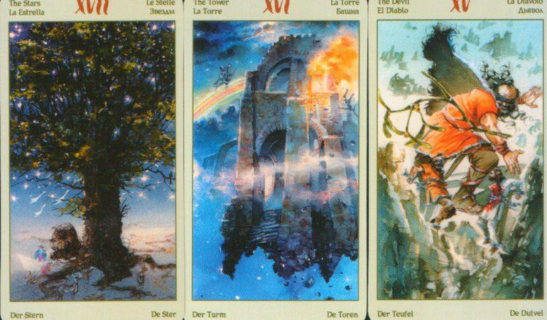 значение аркана башня таро викингов