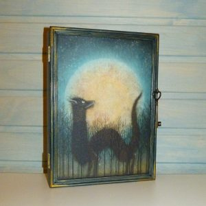 ключница шкафчик лесной дух