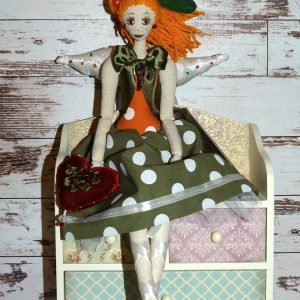 кукла ангел осенней любви