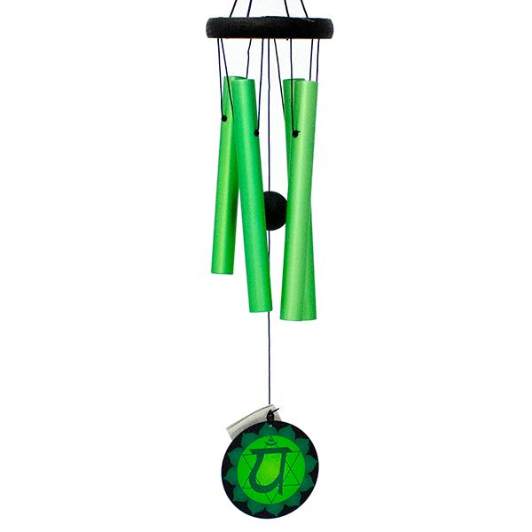 Музыка ветра Анахата чакра 70 см зеленая