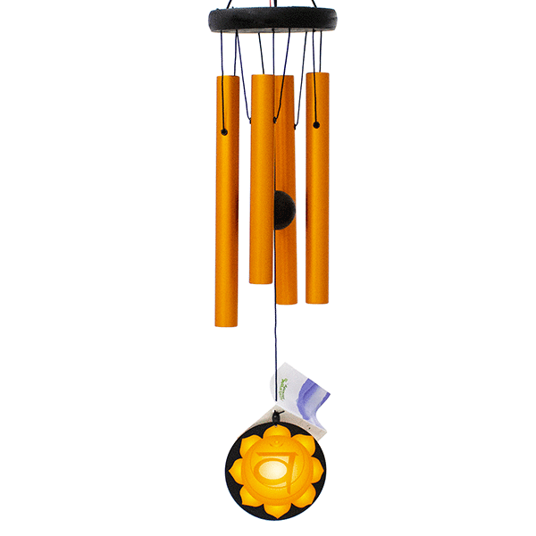 Музыка ветра 4 трубки Свадхистана чакра 70 см оранжевая